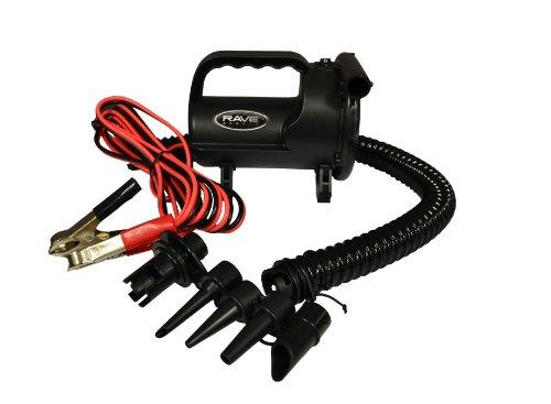 High Output 12 Volt Pump - RAVE Sports 12V High Pressure Inflator/Deflator