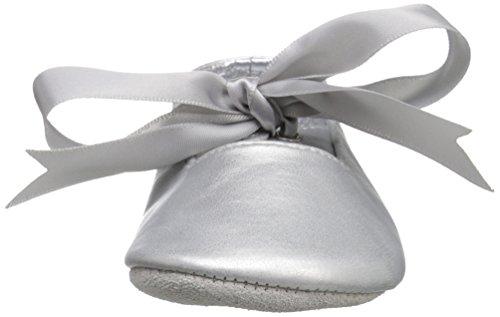Ralph Lauren Layette Briley Ballet (Infant/Toddler), Silver/Metallic, 3 M US Infant - Image 4