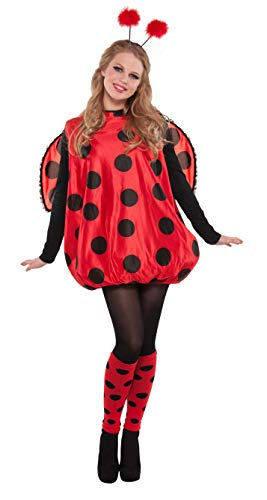 AMSCAN Darling Ladybug Halloween Costume for Women, Standard, with Included Accessories