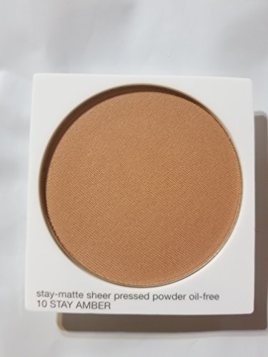 Clinique Stay Matte Sheer Pressed Powder Oil Free Refill 10 Stay Amber Clinique Refill