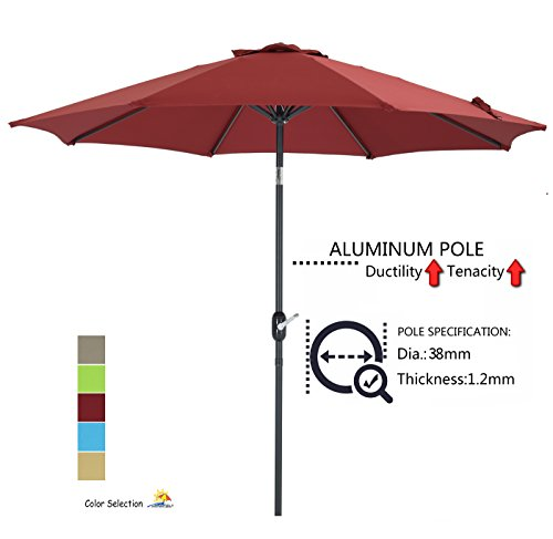 Patio Watcher Aluminum Umbrella GSM Fabric
