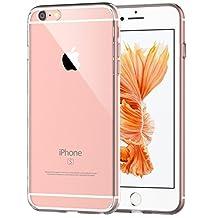"iPhone 6s Plus Case, JETech Apple iPhone 6s Plus / 6 Plus Case Shock-Absorption Bumper and Anti-Scratch Clear Back for iPhone 6s Plus 6 Plus 5.5"" (HD Clear) - 0701"