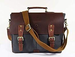 20% off genuine leather messenger bag
