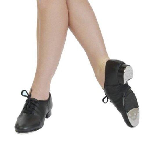 6 tap sole 9 uk size size 5 shoes us split leather capezio black cg06 twE7RR