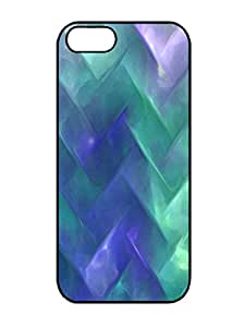 Customized Design Underwater Chevron 3D Pattern Rubber TPU Gel Case For Iphone 5/5s