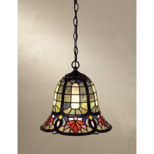 (Quoizel TF1737VB Hyacinth Tiffany Mini Pendant Lighting, 1-Light, 150 Watts, Vintage Bronze (12