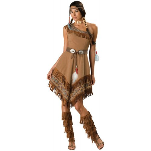 Plus Size Pocahontas Costumes (Indian Maiden Adult Costume - X-Large)