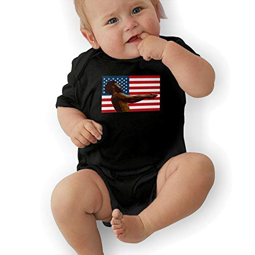 LindaDFeeney Childish Gambino Baby Boy Girl Romper Jumpsuit Bodysuit Outfits Sunsuit 12M Black