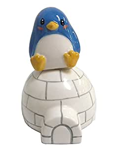 Penguin and Igloo Magnetic Salt and Pepper Shaker Set
