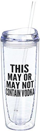 Contain Vodka Tumbler Fluent Sarcasm product image
