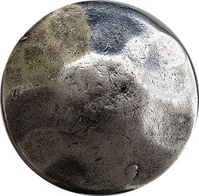 - Springfield Leather Company Hammered Antique Silver Concho 1-3/8