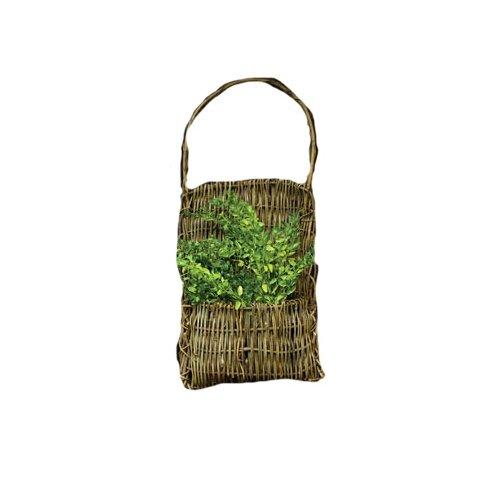 CWI Gifts Vine Pocket Basket, 20-Inch