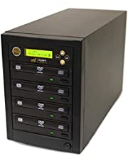 Acumen Disc 1 to 3 DVD CD Duplicator - Multiple Discs Copier Tower Machine with 24x Writers Burners Drives (Standalone Audio Video Copy Duplication Device Unit)