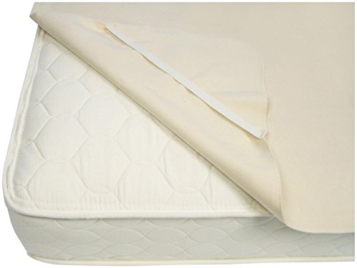Naturepedic Organic Cotton Waterproof Pad with Straps - Full by Naturepedic