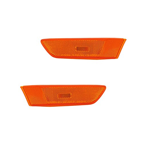 NEW SIDE MARKER LIGHTS PAIR FITS INFINITI G35 COUPE 03-07 26810AL520 26185AM800 26810-AL520 26185-AM800 IN2551109 IN2550109