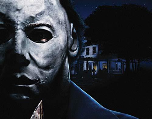 Halloween Michael Myers Poster Print Size 24x18 Decoration