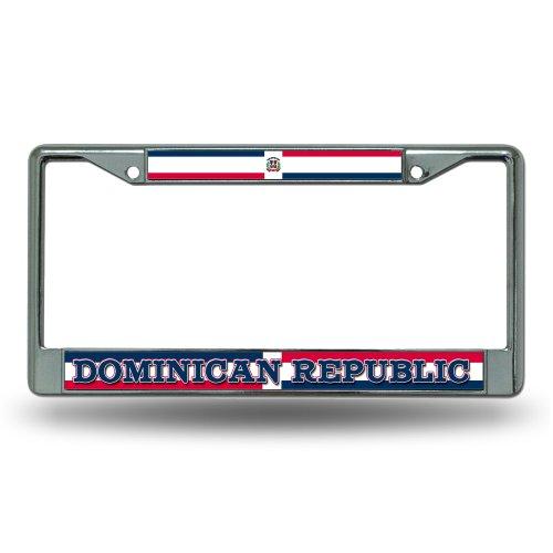 Rico Dominican Republic National Soccer Team Standard Chrome License Plate Frame