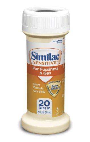 DSS Similac Sensitive Infant Formula EarlyShield 2OZ BTL (Case of 48)