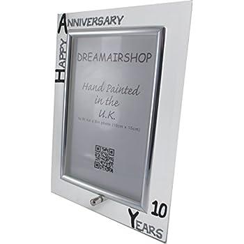 Amazon.com - 10th Year (Ten Year) Anniversary Gift Photo Frame (P ...