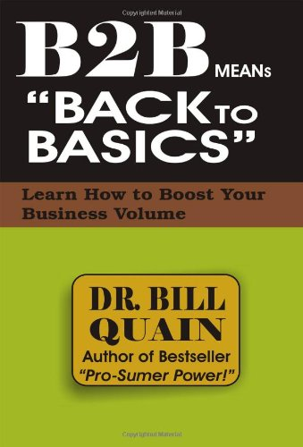 Download B2B Means Back to Basics pdf