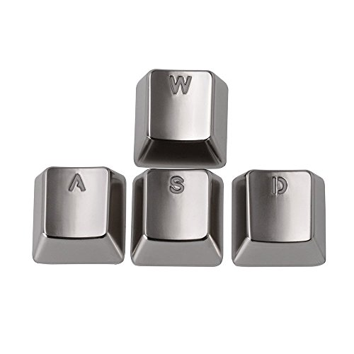Keyset Transparent Silver Mechanical Keyboard