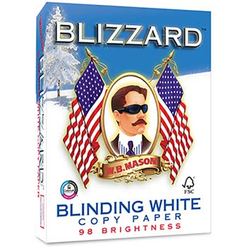 Blizzard Copy Paper, 98 Bright, White, 500 Count
