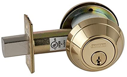 B662P 605 C123 Keyway B600 Serie B600 Grado 1 Cerrojo de bloqueo, Función Cilindro Doble