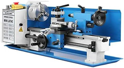 7/'/'x 14/'/' 7 x 14 Inch 0.01mm Precision Variable-speed Mini Metal Lathe 550W 2250 RPM