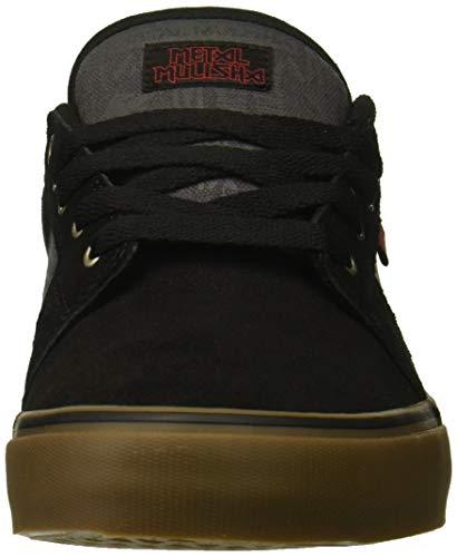 Mulisha Scarpe dark Black Etnies Skateboard Ls Da Barge gum Grey Uomo Metal nqEBw0OE4