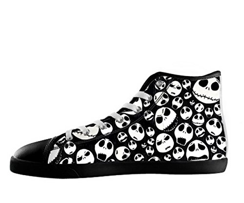 The Nightmare Before Christmas Logoman Halkfria Svarta Kängor Tnbc Canvas Shoes26