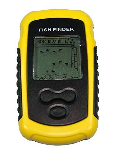 Funk FISCH FINDER - Echolot Fischfinder bis 30M Tiefe