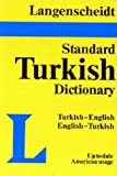 img - for Langenscheidt Standard Dictionary Turkish/English-English/Turkish Plain by Langenscheidt Publishers (1986-12-03) book / textbook / text book