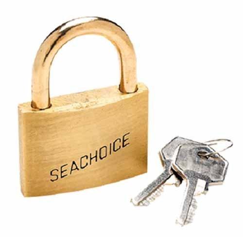 - PADLOCK, Keyed Alike 2 BRASS 3 per Card by Seachoice Products