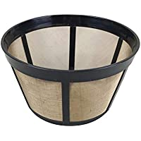 Think Crucial Replacement for Bunn Basket Coffee Filter Fits BX, BTX, GRX, HG, HT NHB, NHS, ST, Washable & Reusable