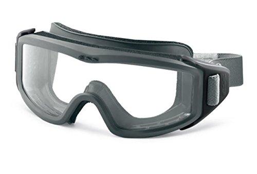 Ess Eyewear 740 0410 Flight Pro Low Profile Googles Clear Lens Gray Frame