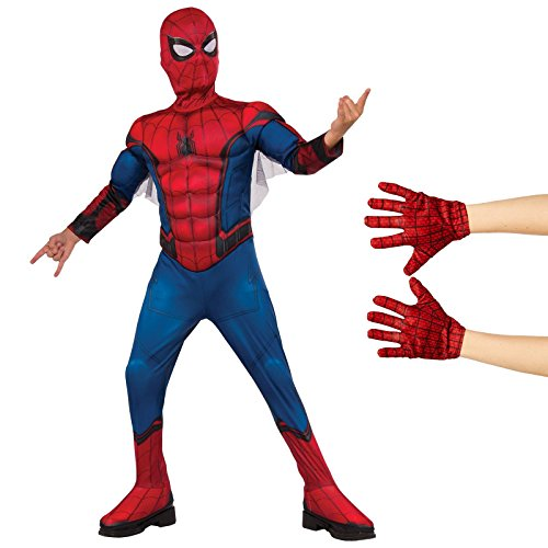 Spider-Man Homecoming - Spider-Man Child Costume Kit Large