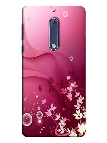 new arrival fb3bb d1af8 TREECASE Printed Back Cover for Nokia 5