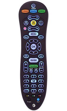 At T U Verse S30 Universal Remote Control Blue Back Light Cy Rc1057 At