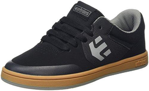 EtniesMarana - Zapatillas de Skateboard Unisex, para niños Schwarz (969 , Black/Gum/Grey)