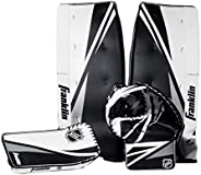 Franklin Sports Street Hockey Goalie Equipment Set - NHL Youth Street Hockey Goalie Pads - Leg Pads, Catch Glo