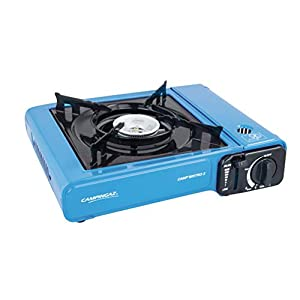 Campingaz Camp Bistro 2 Camping Stove, 1 Flame Portable Gas Cartridge Cooker, Runs on Campingaz CP 250 Cartridges, 2200 WW