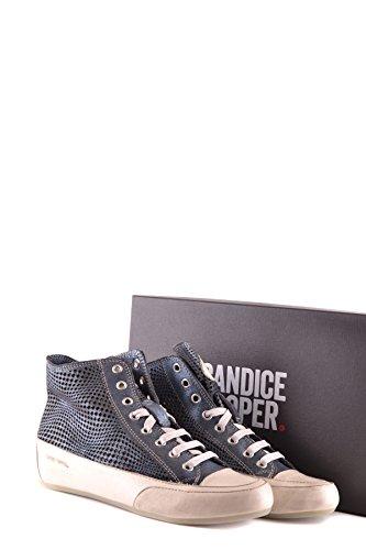 Candice Cooper Donne Mcbi394002o Blue Suede Sneakers Hi