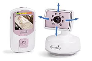 Summer Infant Best View Handheld Color Video Monitor, Pink/ Silver