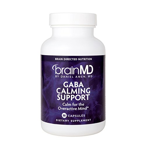 Dr. Amen BrainMD Health GABA Calming Support Dietary Supplement to Support Natural Relaxation and Calmness