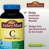 Nature Made Vitamin C Liquid Softgel 500 mg, 180 Softgels