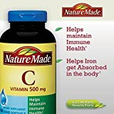 Nature Made Vitamin C Liquid Softgel 500 mg, 180 Softgels