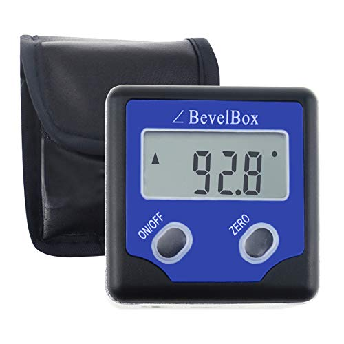 Digital Bevel Box Gauge Angle Protractor IP54 waterproof rate with 3 built-in magnets