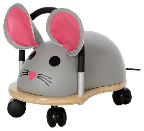 Game / Play Prince Lionheart Wheely Bug - Small/Mouse. Ride, Non-toxic, Wooden, Colorful, Animals, Toy Toy / Child / Kid by WE-R-KIDS