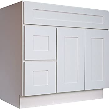 Rsi Home Products C14136A Richmond Bathroom Vanity Cabinet with ...