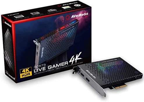 AVerMedia Live Gamer 4K - 4Kp60 HDR Capture Card, Ultra-Low Latency for Broadcasting and Recording PS4 Pro and Xbox One X, PCIe Gen2x4 (GC573) 14
